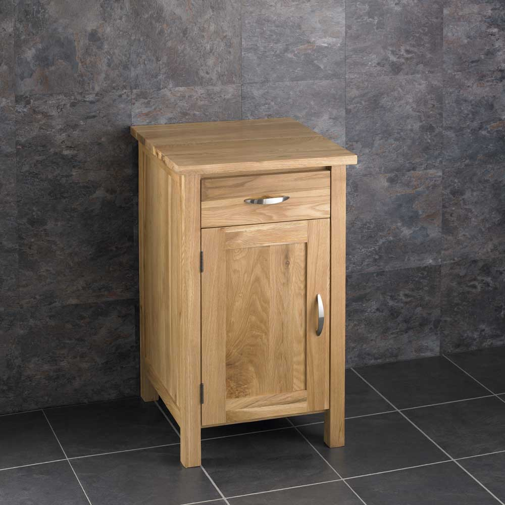 square bathroom cabinet solid oak furniture round sink bowl vanity