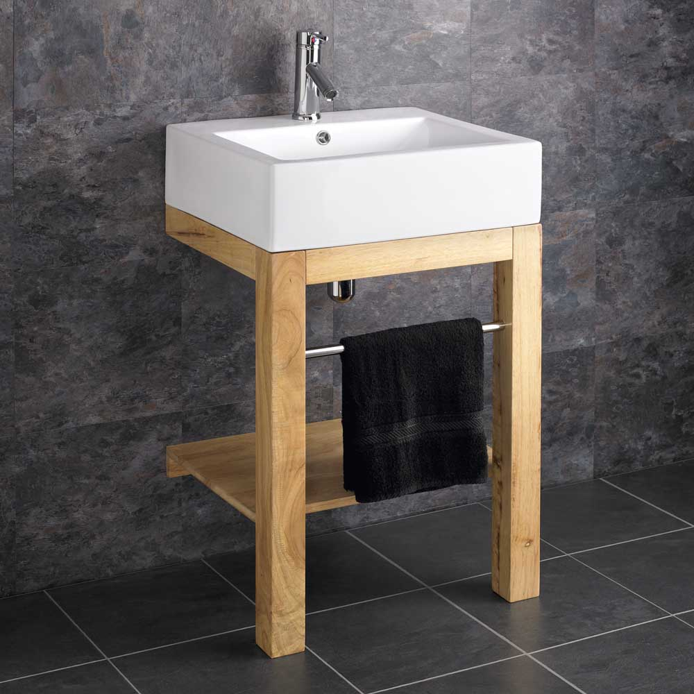 Verona Ceramic Belfast Floor Mounted Freestanding Bathroom